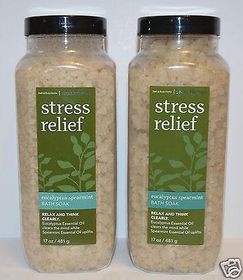 Bath & Body Works 2 Bath Body Works Aromatherapy Stress R...