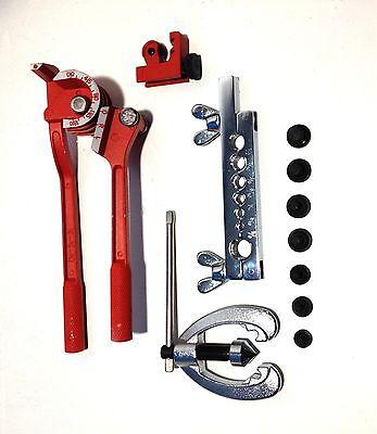 Brake Fuel Repair Kit Set Cutter Imperial Tool Pipe Flaring Steel Pipe Cutter