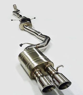 Becker Exhaust Cat Back Fit 10 11 12 13 14 A5 Quattro 20L Turbocharged all