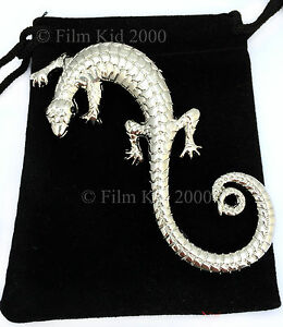 HOBBIT-LORD-OF-THE-RINGS-SARUMAN-LIZARD-BROOCH-PIN-TWO-TOWERS-RETURN-OF-THE-KING