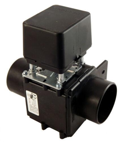 96D350A71 Milnor Drain Valve 3 inch 230V 50/60Hz, .20-.17Amp, Depend-O-Drain NO