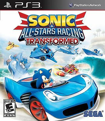 Sonic   All Stars Racing Transformed  Playstation Ps3  New