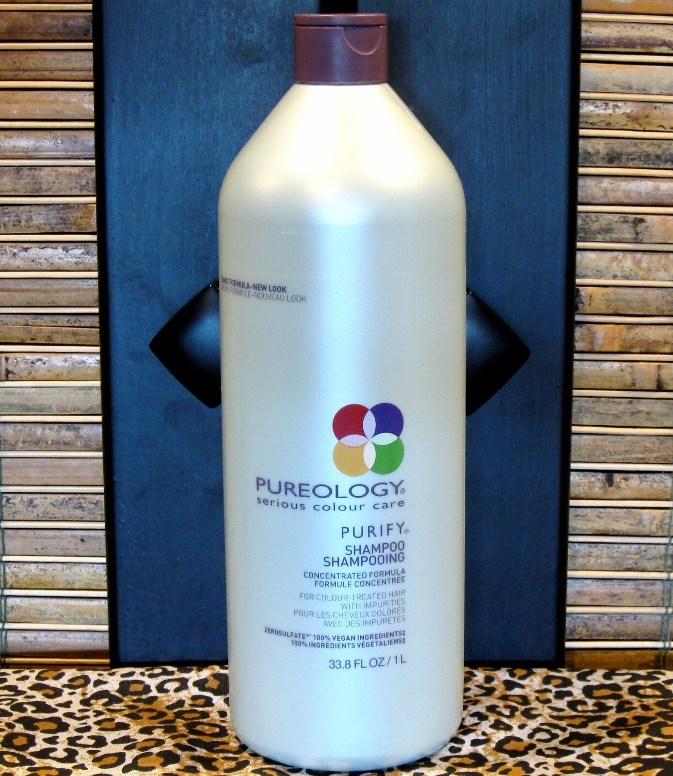 Pureology Purify Shampoo 33.8 oz Liter Sulfate Free Clarify Removes Build Up