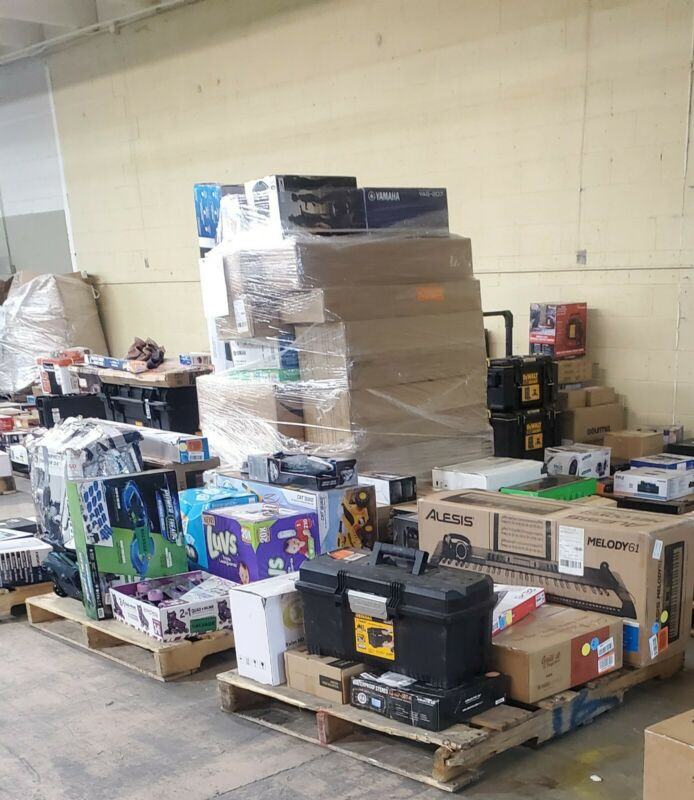 Amazon Wholesale lots, Mixed lot Reseller Combo Great Buy Worth 90