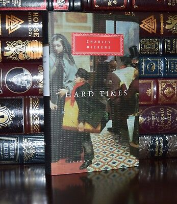 Hard Times Charles Dickens New Ribbon Collectible Illustrated Hardcover Classics