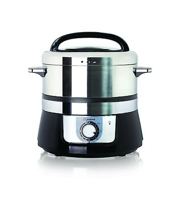 Euro Cuisine FS3200 Stainless Steel Electric Food Steamer -