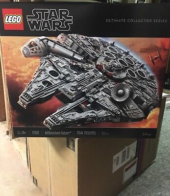 LEGO Star Wars UCS Millenium Falcon 75192 Brand New - In Hand - Ready to Ship