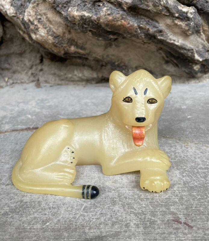 Vintage King Tut Lion Statue Metropolitan Museum Of Art MMA 1976