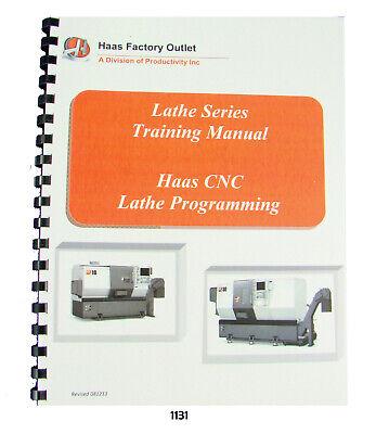 Haas Cnc Lathe Sl Series Programming Training Manual 1131