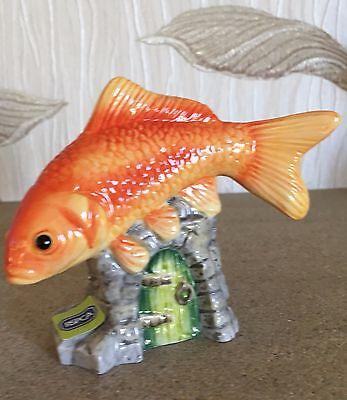 JOHN BESWICK FISH GOLDFISH MODEL No JBDP2  GLOSS NEW & BOXED