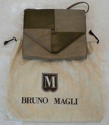 44ded1b0bb1d1 Damen Leder Umhängetasche von Bruno Magli - Schultertasche - Abendtasche .