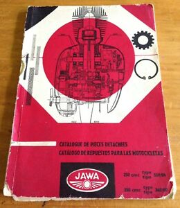1967 JAWA MOTORCYCLE PARTS CATALOGUE