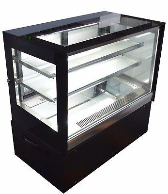 220v Countertop Refrigerated Cake Showcase Bakery Dessert Display Cabinet Case