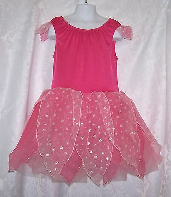 Gymboree Girls Pink Fairy Costume 18 24 mo Toddler and Large Pink Dress Up