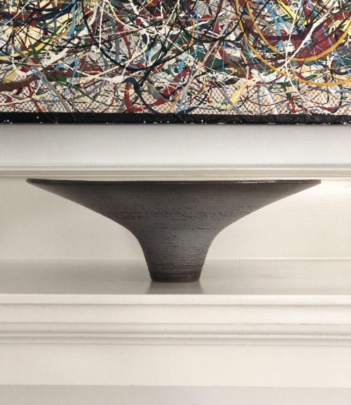 Ikebana Vase Toyo Japan Mid Century Modern Modernist Japanese Pottery Vessel #6