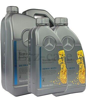 7 Liter Original Mercedes Benz MB 229.5 5W-40 5W40 Motoröl Motorenöl NUR 5,43€/L