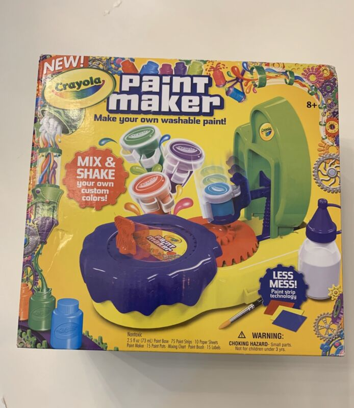 Crayola Paint Maker Kids Craft Kit Make your own washable paint!