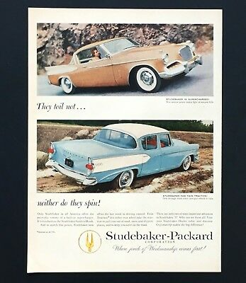 1957 Studebaker Packard Advertisement Golden Hawk Vintage Car Photo Vtg Print AD for sale  Shipping to Canada