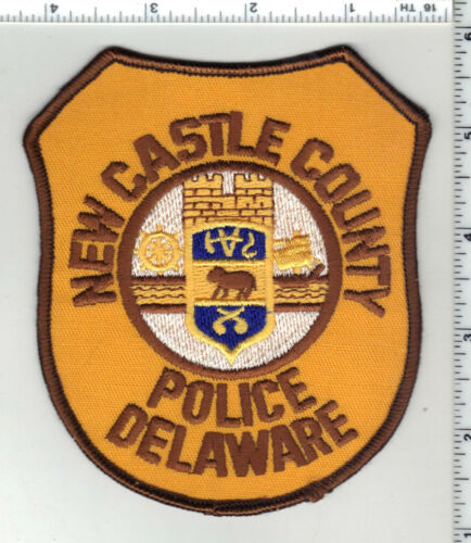New Castle County Police (Delaware) 3rd Issue Shoulder Patch