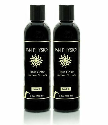 Lot Of 2 Tan Physics True Color Rated 1 Sunless Self Tanner Tanning Lotion - $63.15