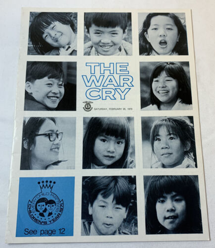 Salvation Army magazine ~ THE WAR CRY February 26, 1972