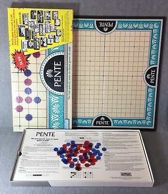 Pente Board Game of Skill 1989 Promotional Edition No. 0039 Parker Brothers