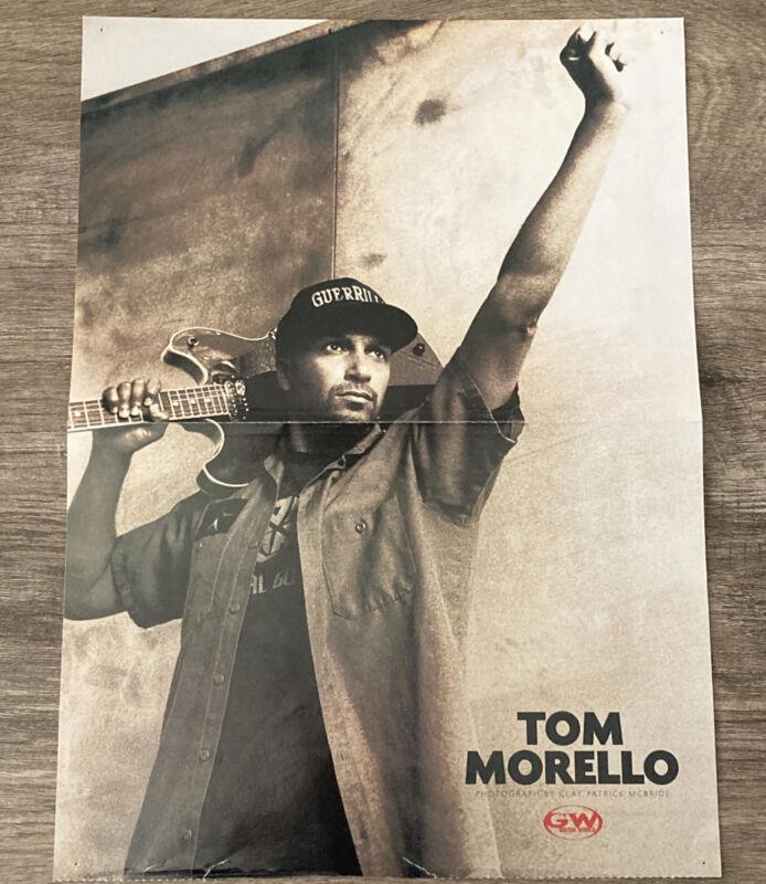 Guitar World Magazine Tom Morello Poster