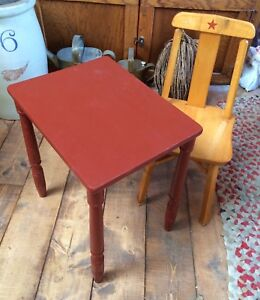 Cute Child's Table and Chair