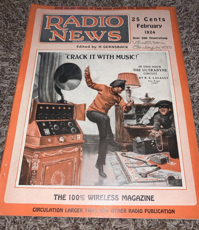 Radio News Magazine Feb 1924