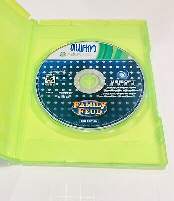 Family Feud 2012 Edition Xbox 360 2011 Disc Only - Works Great - Ships Fast