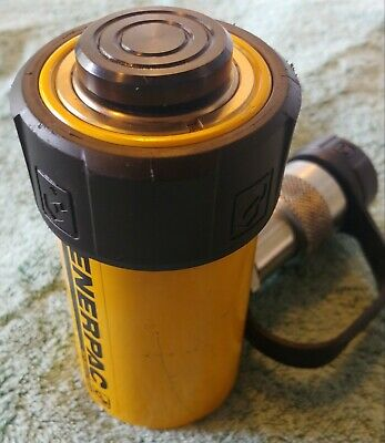 Enerpac Rc-102 Hydraulic Cylinder Duo 10 Ton 2 Stroke Demo Unit Very Nice