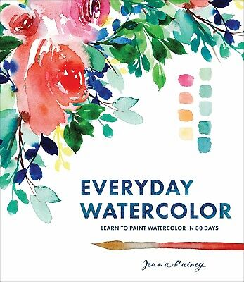 Everyday Watercolor by Jenna Rainey (2017, Digitaldown)