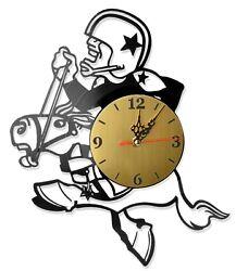 NEW  Vinyl Record Wall Clock Dallas Cowboys #2, modern decorative art ~ 12