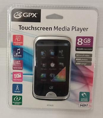 """GPX MT863S 8GB 2.8"""" Digital Media Player"""