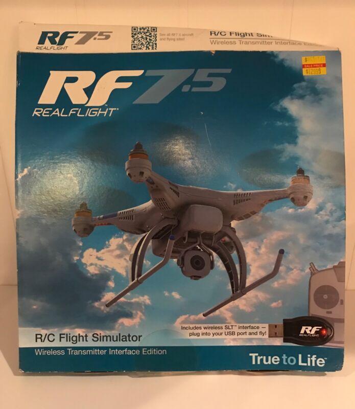 RF 7.5 RealFlight RC Flight Simulator