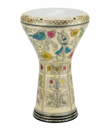 M27 Drum Darbuka tabla doumbek mother of pearl Gawharet El Fan free bag 17 inch