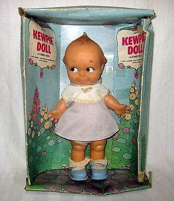 Amsco Cameo 10  Kewpie Doll Girl Baby Play Toy Vinyl