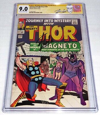 Journey Into Mystery #109 CGC SS Signature Autograph STAN LEE Magneto Mastermind