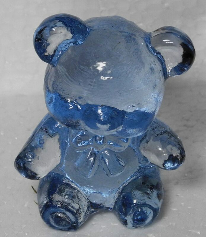 Boyd Glass Fuzzy the Bear Soft Iris 2003