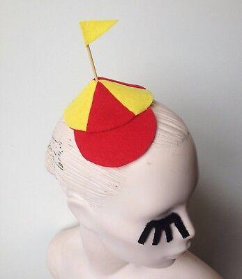 Mini Tweedle Dee Tweedle Dum Alice Wonderland Disney Hat with Flag Cosplay](Tweedle Dee Tweedle Dum Hats)