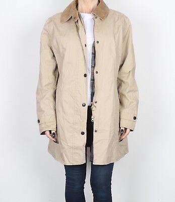 (BARBOUR Lightweight Newmarket Jacket Mac UK 16 XL  (K2G) )