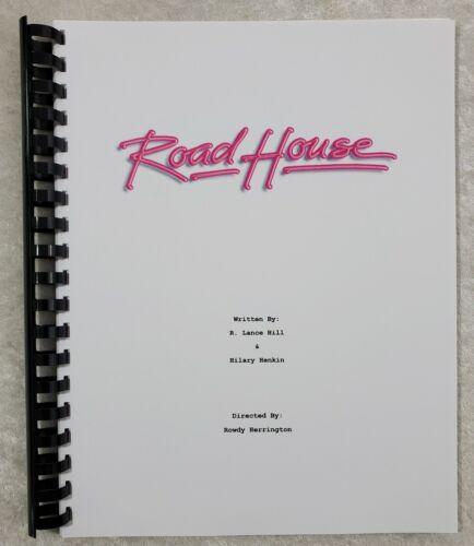 Road House Movie Script Reprint Full Script 1989 Film Patrick Swayze