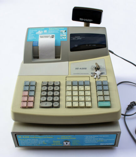 Sharp XE-A20S Electronic Cash Register