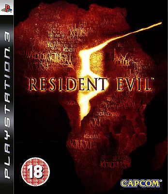 Resident Evil 5 PS3 playstation 3 jeux jeu game games lot spellen spelletjes 717