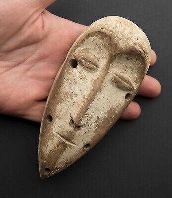Mask Pasport Diminutive African Lega DRC Wooden 15cm Art First 16706