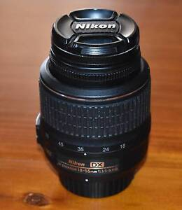 NIKON 18-55mm Lens Hadspen Meander Valley Preview