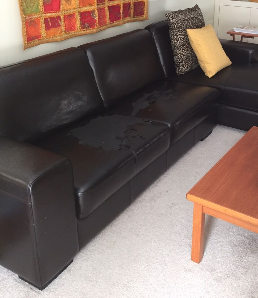 Sofa repair frame springs vinyl leather furniture for Sectional sofa kijiji brampton