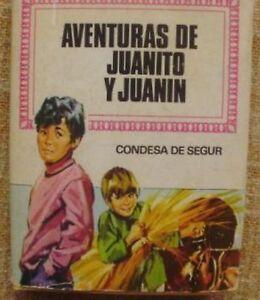 Aventuras-de-Juanito-y-Juanin-Condesa-de-Segur-Bruguera-3-edicion-1974