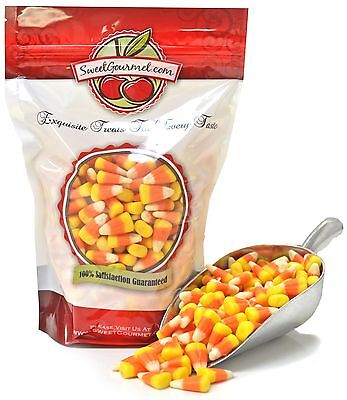 SweetGourmet Candy Corn - Halloween Candies Mellowcreme - 15oz FREE SHIPPING!