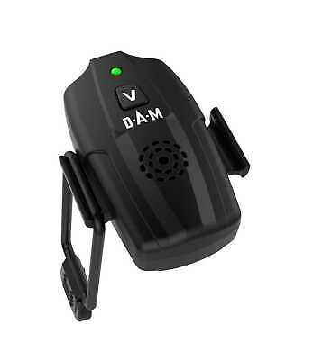 DAM E-MOTION ALARM Bissanzeiger Vibration Sensor Licht Ton Aal Wallerangeln